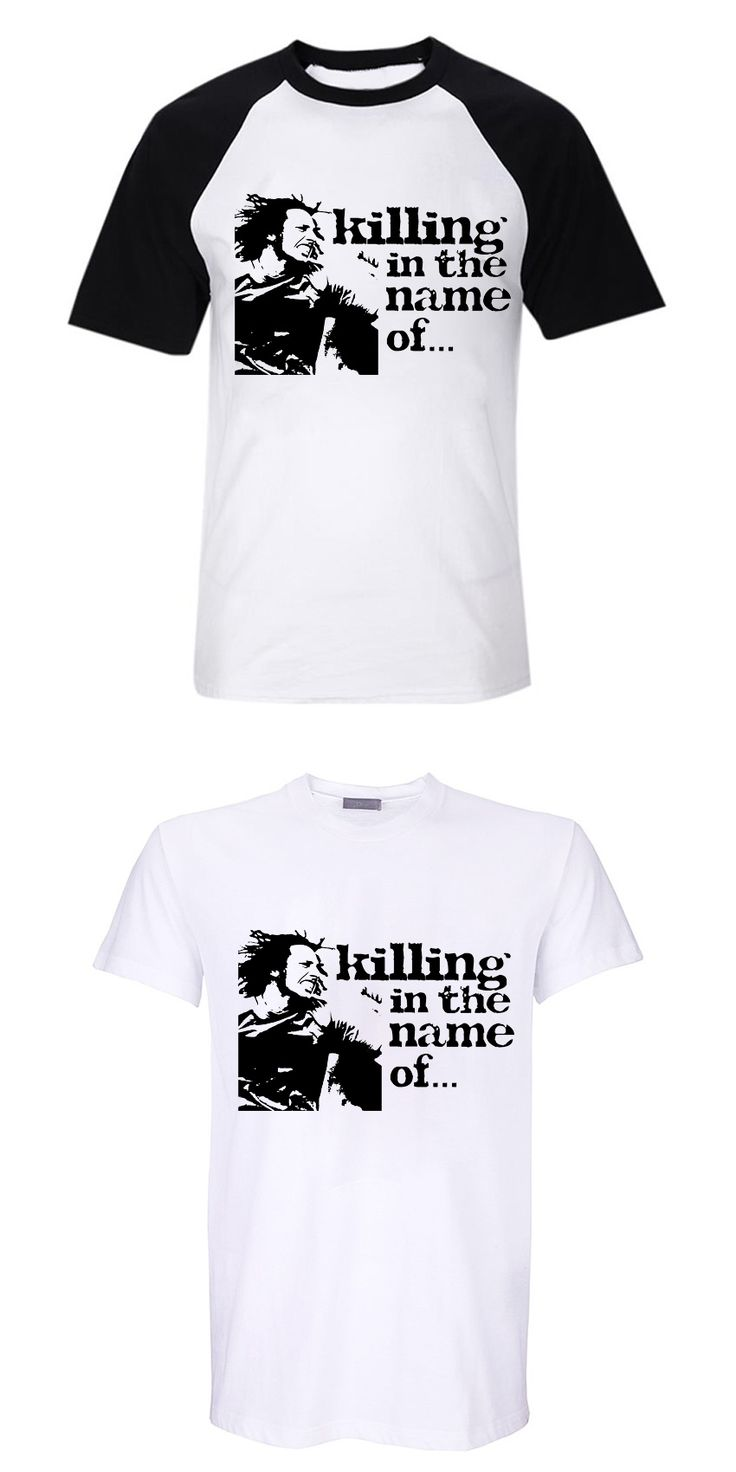 killing in the name of... rap metal rock music fans pre-washed comfortable cotton o neck t shirt