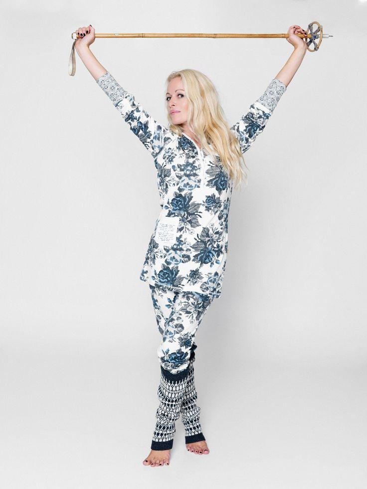 Lilleba og herremann pyjamas for damer.