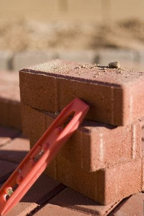 Instructions on Building a Brick Flower Planter