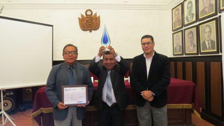 Asociación Civil Labor obtiene PRIMER PUESTO en el Premio Nacional Cultural del Agua 2017, en la Categoría Buenas Prácticas en gestión de Recursos Hídricos.
