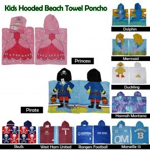 Online shopping for hooded & beach towels for kids and other kids bathroom sets and accessories are available at Manchester House with our great selection of colorful and fun design products. #bed #bedspreads #coverlets #blankets #comforter #quilt #duvets #doonas #mattresstoppers #pillows #protectors #sheets #throws #underlays #valances
