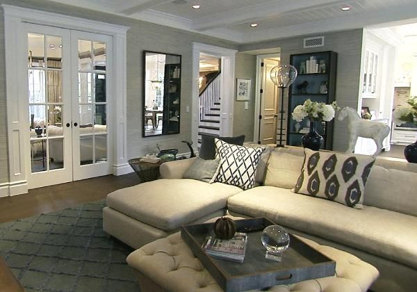sophisticated and cozy, Giuliana Rancic's home