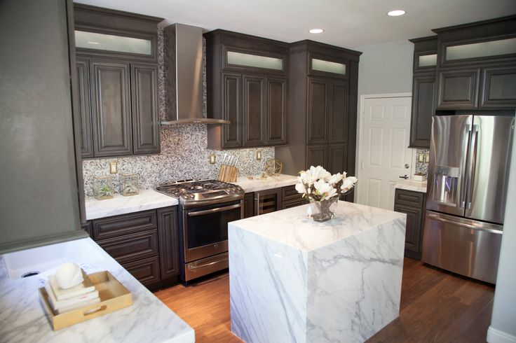 Just In: Kensington Mist Grey Kitchen Cabinets From Cabinets To Go |  Featured In DIY Renovator And Interior Designer, Alison Victoriau0027s Kitchen!