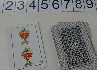 Cálculo mental: La carta doble. Para este juego se requiere de cartas españolas.