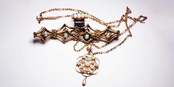 Antique Opal Jewellery - La Vogue Vintage can Custom Make Such Styles