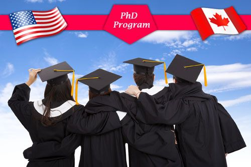 Study PhD in USA or Canada