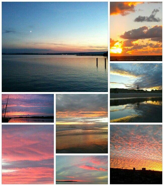 Collage de cielos