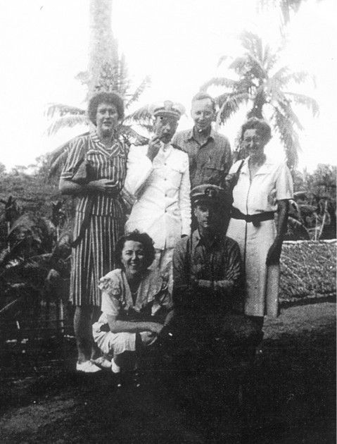 Julia McWilliams (Child) with Office of Strategic Services (OSS) colleagues. (Courtesy Simon and Schuster/The OSS Society)