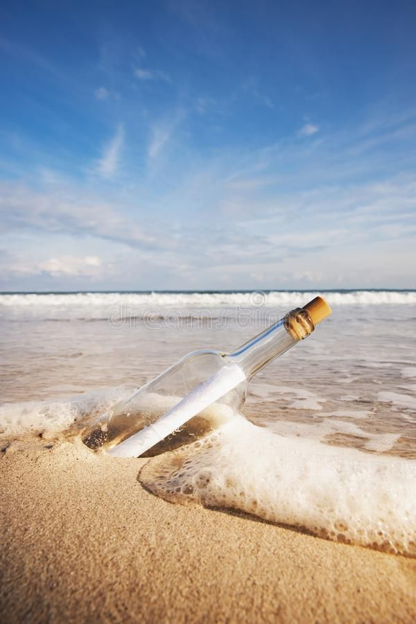 Message In A Bottle Royalty Free Stock Images Stock Images Free Image Stock Photos