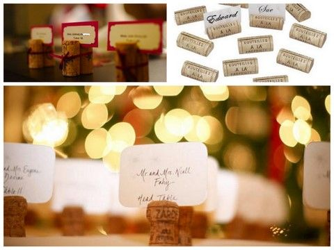 Wedding Receptions 4 Cool Escort Card Ideas For Your Reception Place HoldersPlace