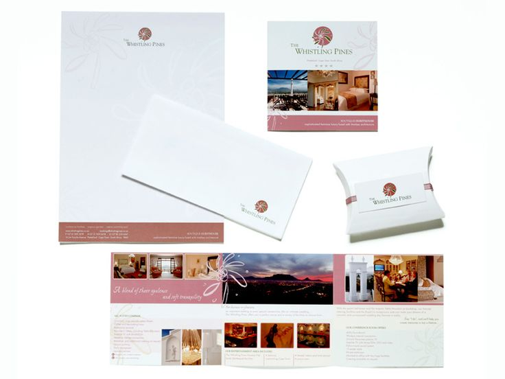 Whistling corporate identity development. stationery , photography and brochure. www.fusiondesign.co.z