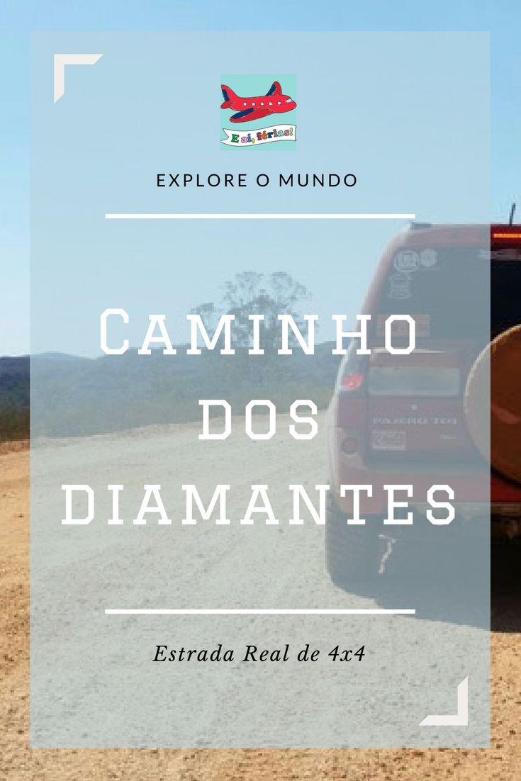 Caminho dos Diamantes, Estrada Real, Ouro Preto a Diamantina de 4x4, offroad