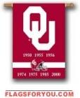 Oklahoma Sooners Champion Years Banner - 1 left
