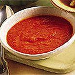 Соус-пюре из красного перца