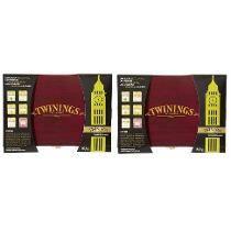 02 Caixas De Madeira Cha Twinings Com Total 120 Sachês
