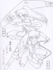 inuyasha coloring page google search