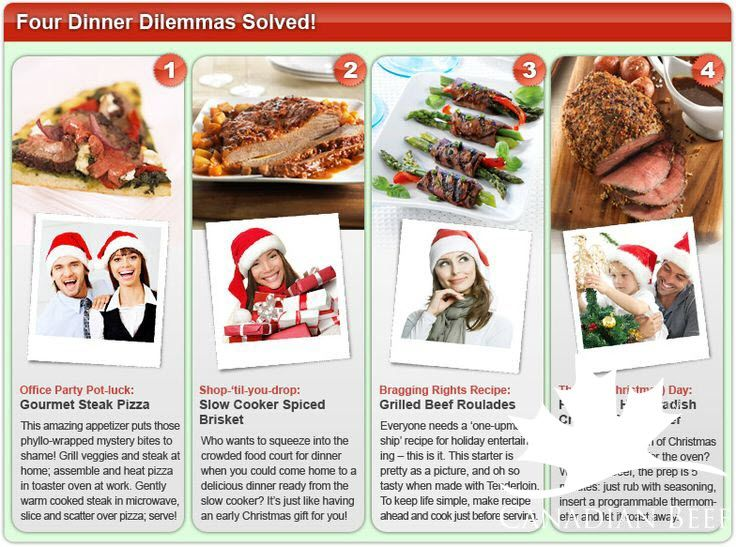See how to solve four common dinner dilemmas in our December #MakeItBeefClub eNewsletter #LoveCDNBeef