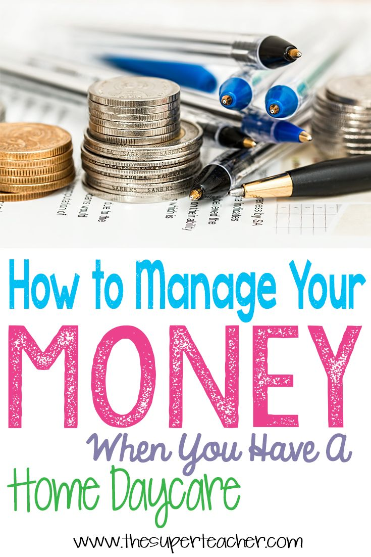 How to Manage Your Money When You Have a Home Daycare - Managing your finances is a totally different game when you are self-employed.  Check out the blog to read about this awesome technique for managing your money when you have a home daycare!