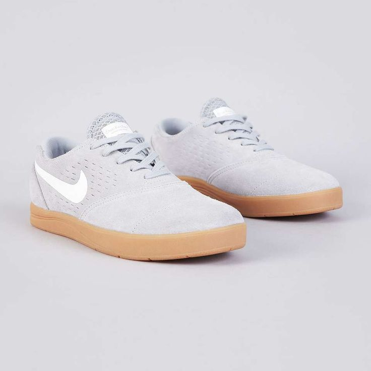 Nike SB Eric Koston 2 Wolf Grey / White Sneakers