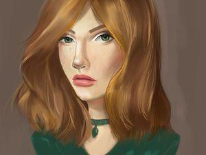 Как нарисовать цифровой портрет? | Ярмарка Мастеров - ручная работа, handmade