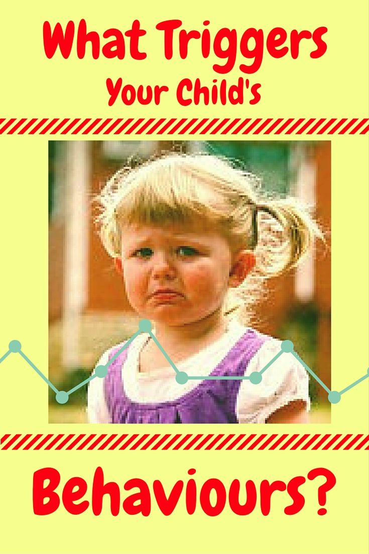 """Find out how to recognize your child's triggers resulting in """"out of nowhere"""" behaviours."""