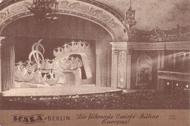 Scala Berlin, Die führende Varieté Bühne Europas, 1930.