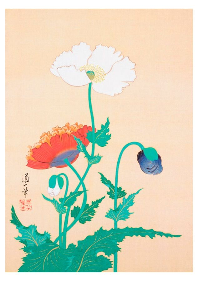 10 best asian art images on pinterest asian art butterflies and poppies late 19thearly 20th century by sakai ditsu sciox Gallery