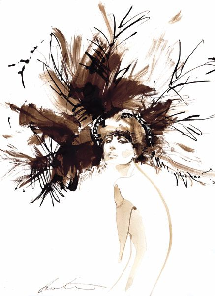 david downtown illustration | david downton: fashion illustrator