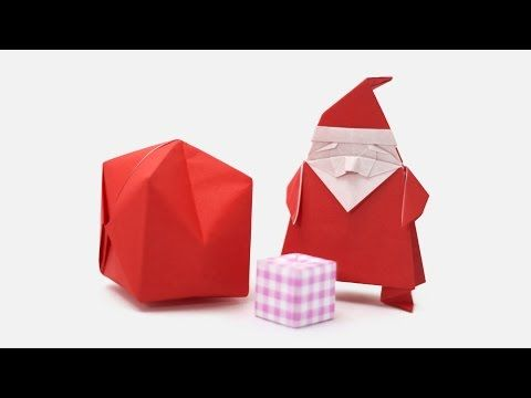 Origami Santa Claus (Jo Nakashima & Camila Zeymer) - YouTube