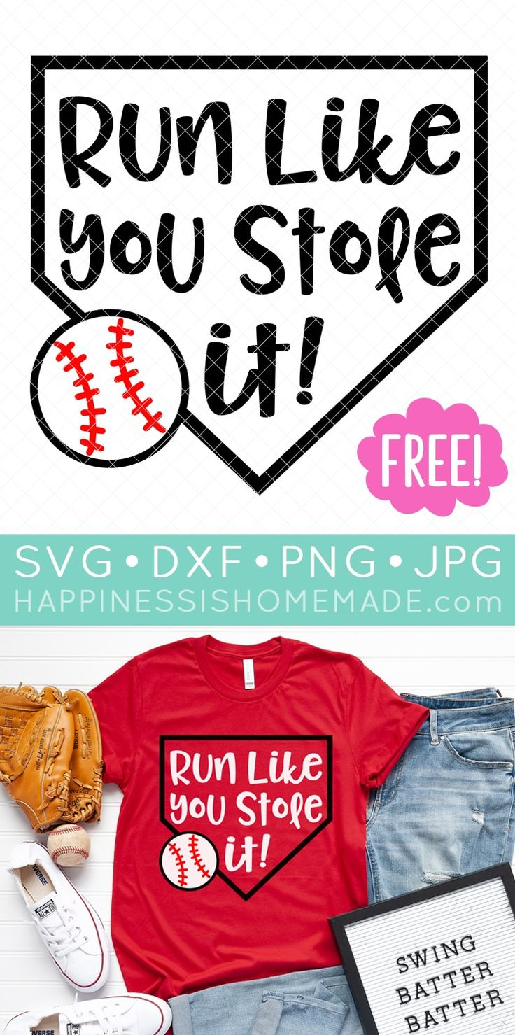 Calling all baseball fans! Use these 15 FREE Baseball SVG