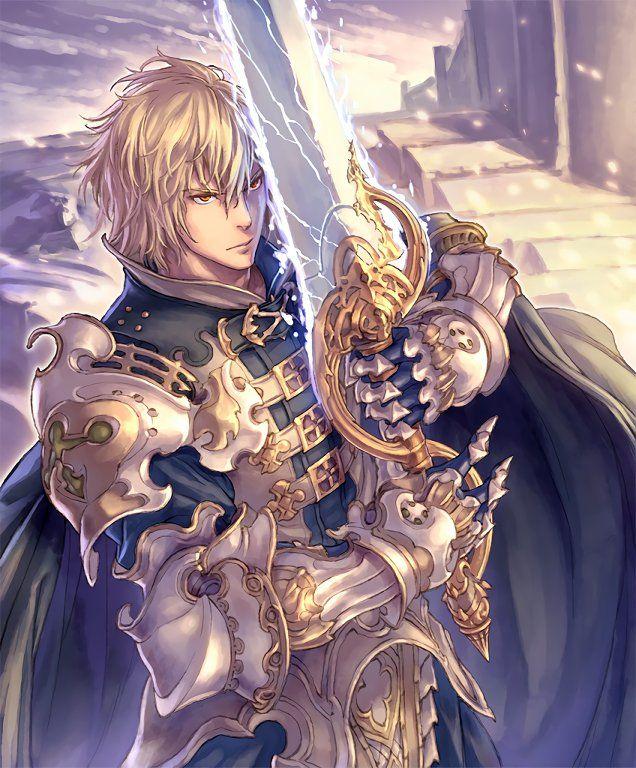 Gauntlet Of Siegfried : gauntlet, siegfried, Card:, Siegfried, Fantasy, Character, Design,, Anime, Fantasy,