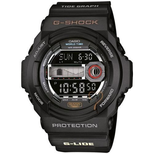 Ρολόι Casio G-Shock Protection Black Rubber Strap - GLX-150-1ER - http://rologia.org/%cf%81%ce%bf%ce%bb%cf%8c%ce%b9-casio-g-shock-protection-black-rubber-strap-glx-150-1er/