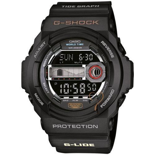 Ρολόι Casio G-Shock Protection Black Rubber Strap - GLX-150-1ER - http://rologia.org/%cf%81%ce%bf%ce%bb%cf%8c%ce%b9-casio-g-shock-protection-black-rubber-strap-glx-150-1er/