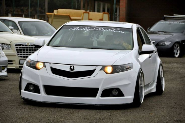 Beautiful wide body acura tsx