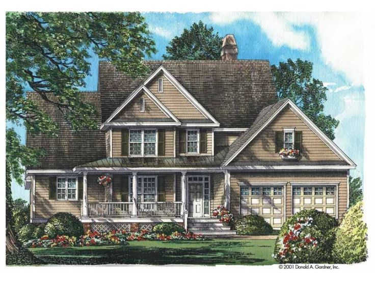 Country House Plan With 2470 Square Feet And 4 Bedrooms From Dream Home  Source | House