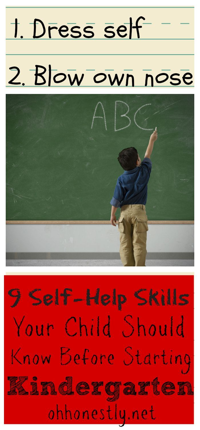 9 Self-Help Skills Your Child Should Know Before Starting Kindergarten