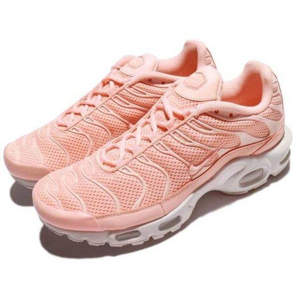 b27d441cf5d8 Nike Air Max Plus BR Arctic Orange Tuned Pink White Men Running Shoes.
