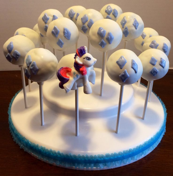 Photo My Little Pony Equestria Girl Pinkie Pie Cake Pops