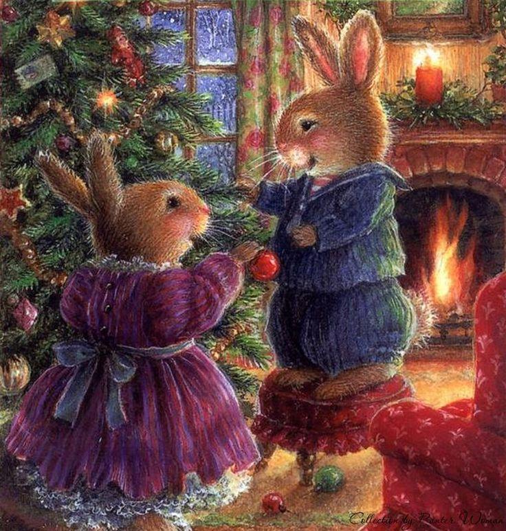 поздравление с рождеством заяц смерти