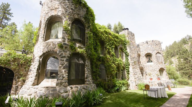 5 Incredible Castles In Colorado You Probably Never Knew Existed   The Denver City Page  Dunafon Castle. Located in Morrison, Colorado in beautiful Bear Creek Canyon, this stunning seventeen-acre setting has 1500 feet of private trout ponds and is surrounded by an open space park with a walking, hiking, and mountain bike trails.