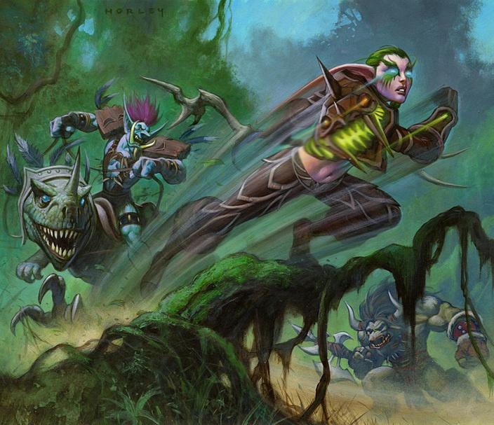 Blood elf vs drake - 1 1