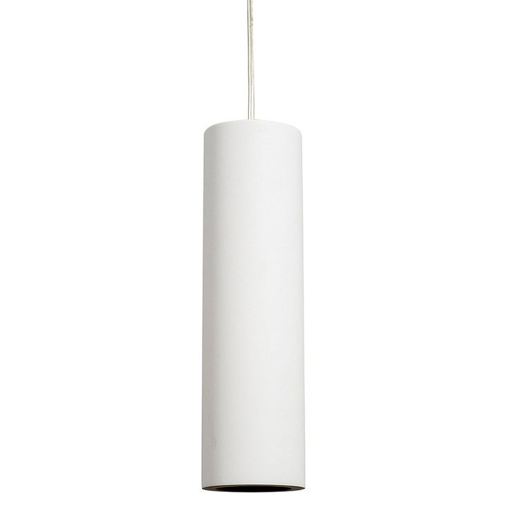 LED Pendant Light Round White Plaster GU10 5W in 25cm Gesso Havit Lighting | GoLights.com.au