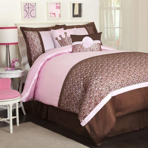 Bedroom Decorating Ideas With Leopard Print 7 best cheetah print comforter set images on pinterest | bedroom