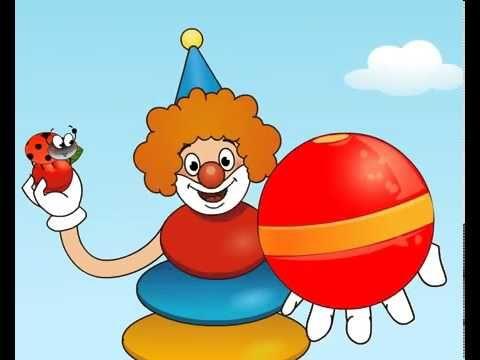 """https://www.youtube.com/watch?v=_DcLGQgET7w   Веселая радуга. Развивающий мультфильм для детей  Мы предлагаем Вам познакомиться с детским мультсериалом «Веселая радуга», в каждой серии которого ребенок будет знакомиться с одним из цветов радуги.  Веселая радуга"""" - это обучающий мультсериал для детей от 1 года до 5 лет.  Ваш малыш очень быстро запомнит все цвета. Веселая песенка из мультфильма поможет в обучении. Цвета: красный, оранжевый, жёлтый, зелёный, голубой, синий, фиолетовый."""
