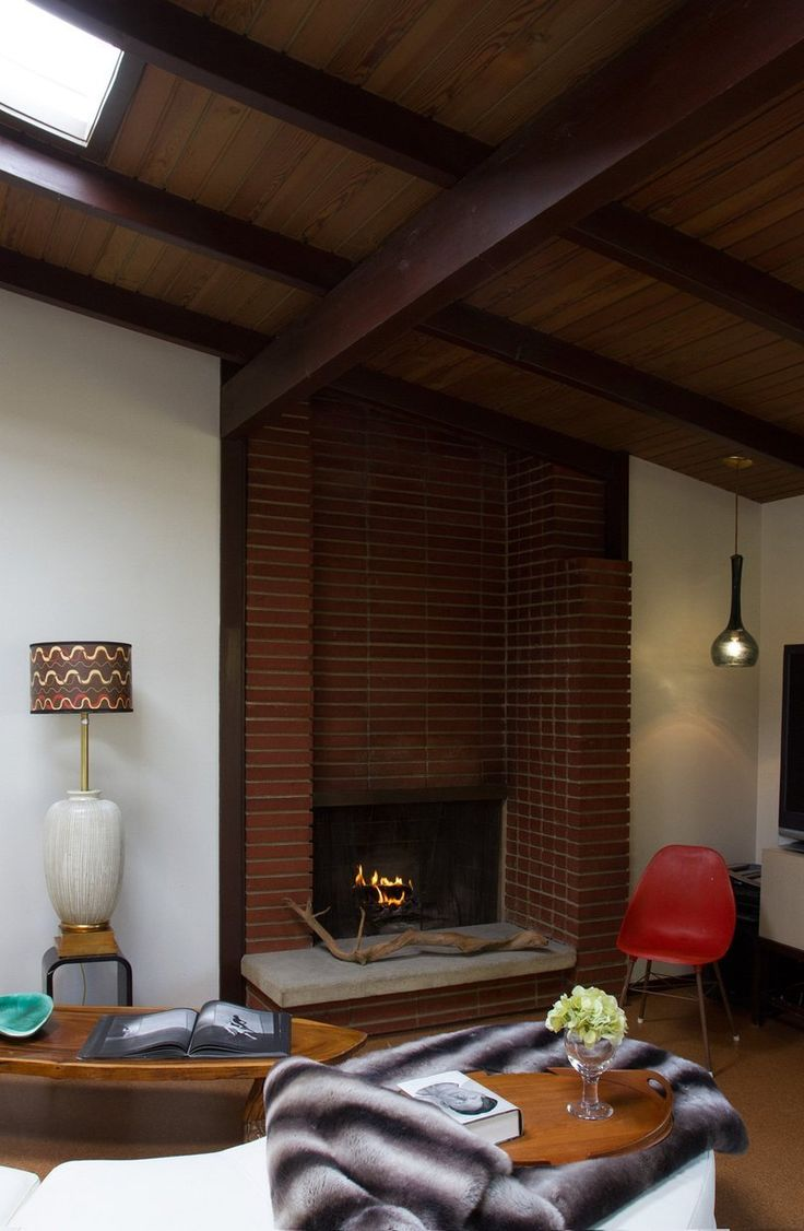 Modern Architectural Fireplaces 148 best mid century modern house images on pinterest