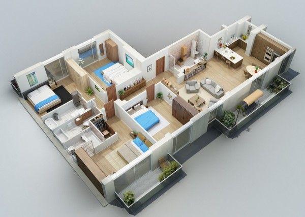 445 best House plans images on Pinterest House blueprints