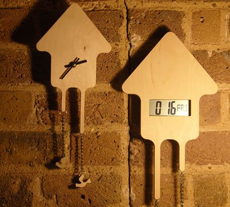 Contemporary Cuckoo Clocks