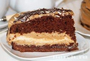 Торт с безе «Черный принц» | Фоторецепт с подробным описанием от Харч.ру