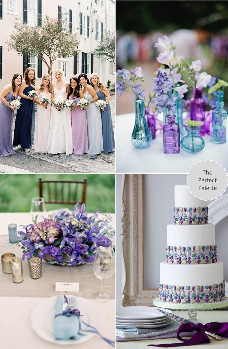 Shades of Blue + Purple