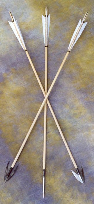 Medieval Arrows - By Richard Head Longbows